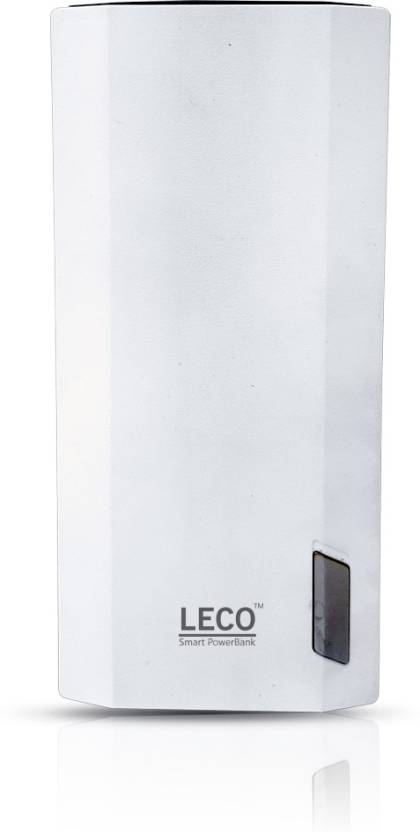 Leco 20000 mAh Power Bank (Le20000, mAh )  (White, Lithium-ion)