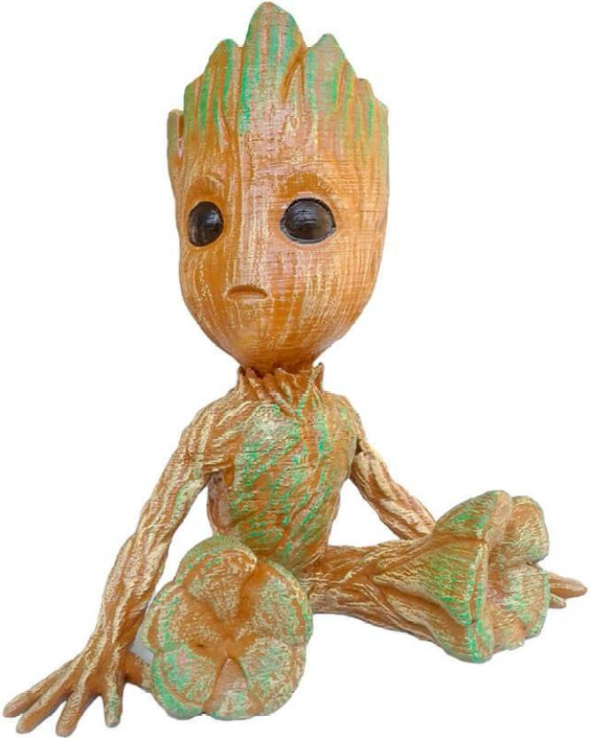 Unique Shape Baby Groot Toy Guardians Of The Galaxy 2 Gift Showpiece