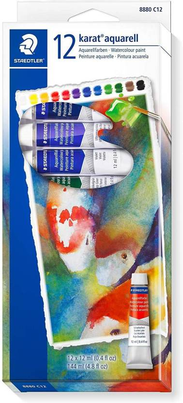 3aab2f811aa7 Staedtler Aquarell Water Colour Paint Set - Pack of 24 Tubes