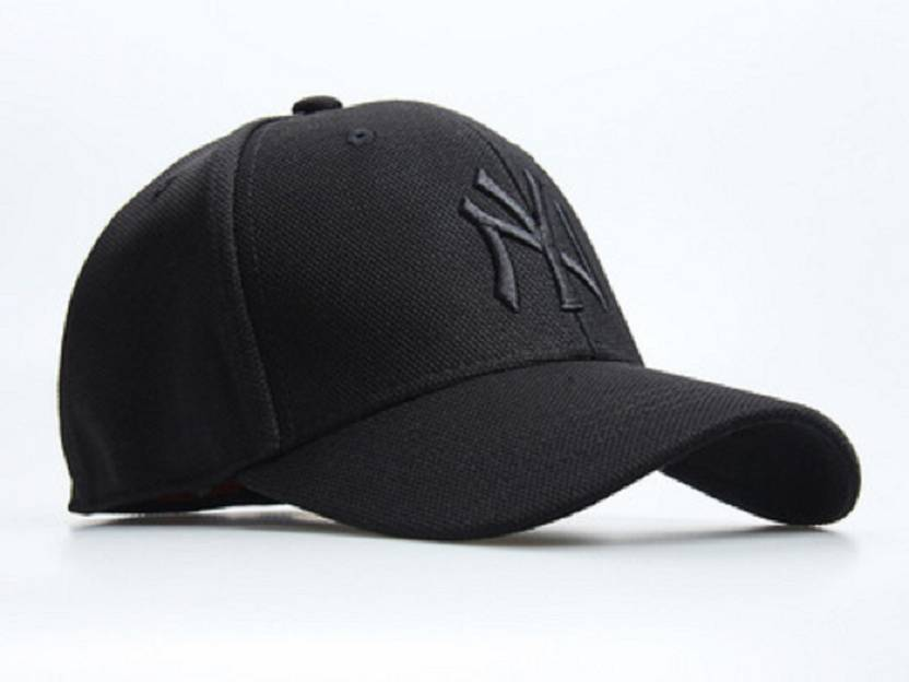 Huntsman Era Fitted Flexfit NY Black baseball Cap - Buy Huntsman Era Fitted  Flexfit NY Black baseball Cap Online at Best Prices in India  24c8fb56200f