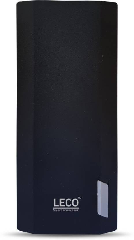 Leco 20000 Power Bank (20000W, mAh with Digital Display and 2.1 fast charging)  (Black, Lithium-ion)