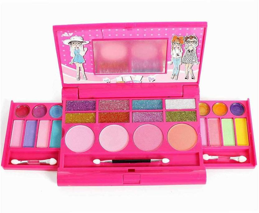 IQ Toys Princess Girl's All-In-One Deluxe Makeup Palette With Mirror - Princess Girl's All-In-One Deluxe Makeup Palette With Mirror .