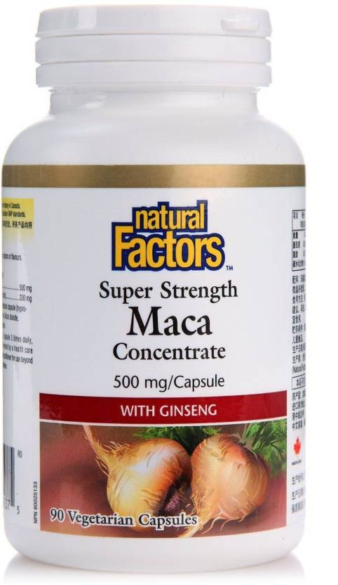 Natural Factors Organic MacaRich' Super Strength Power Maca with