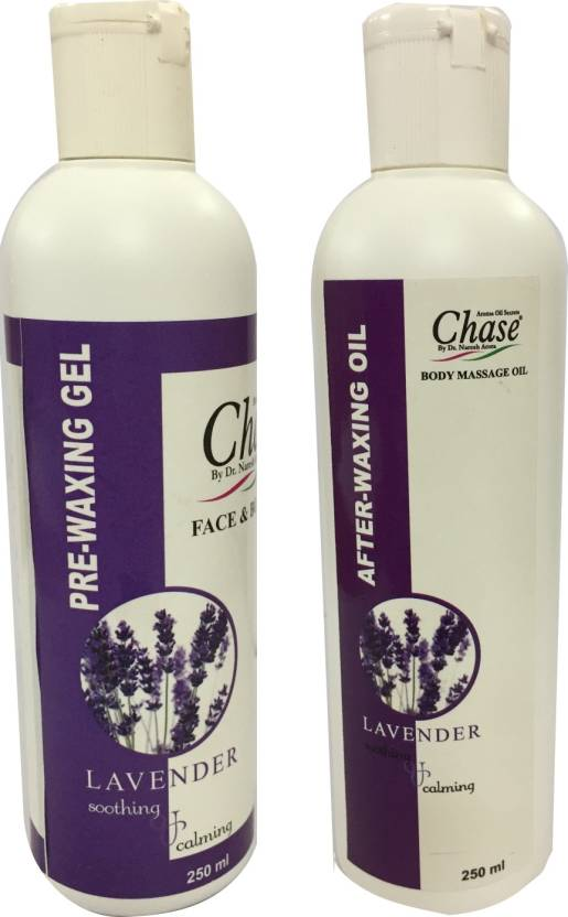 Chase LAVENDER PRE WAXING GEL AND OIL SET Wax - Price in India, Buy