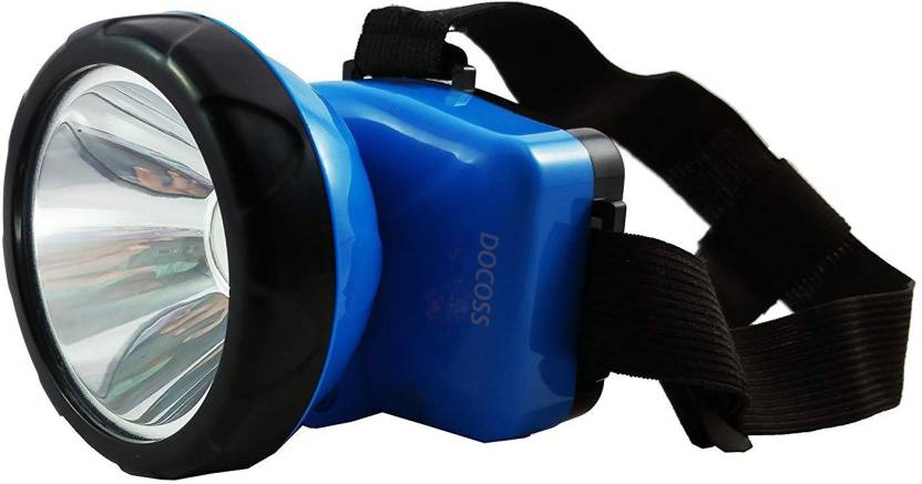 Bright Adjustable Rechargeable Light Docoss Headlight Head Torch dtChrsQ