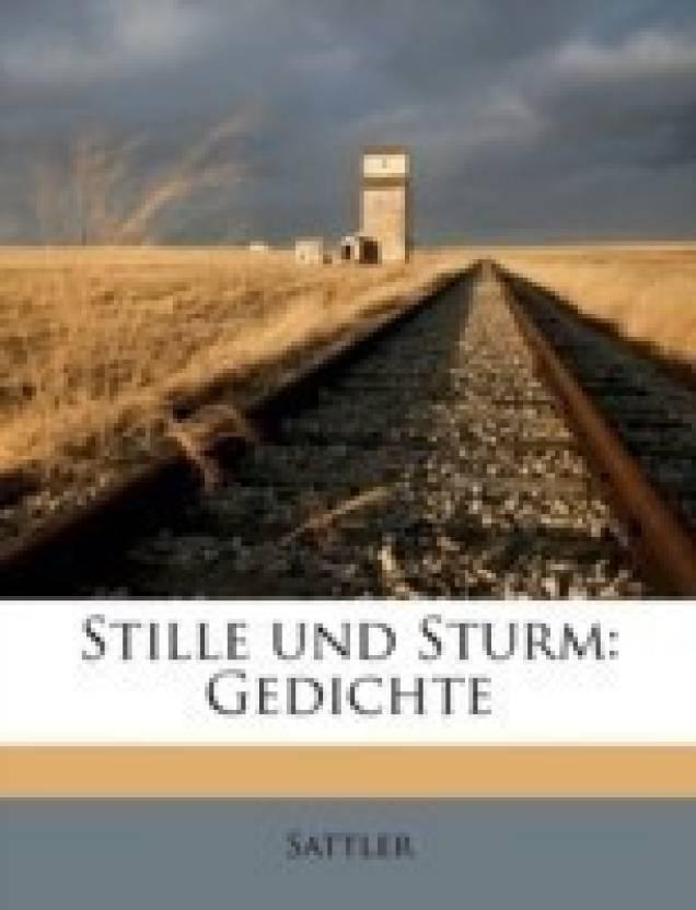 Stille Und Sturm Buy Stille Und Sturm By Sattler At Low