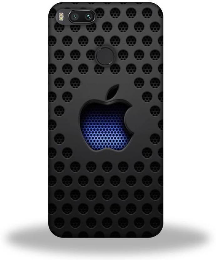 newest 47a90 91836 Hemking Back Cover for Redmi MI A1 Apple Logo Printed - Hemking ...