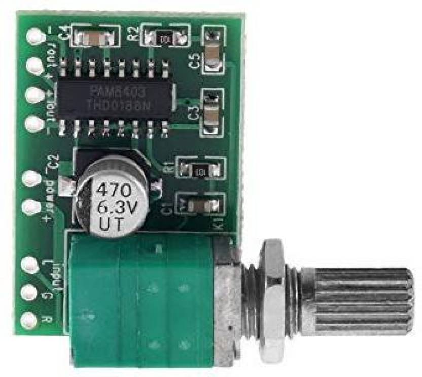 ARDUINO M406 Mini PAM8403 5V 2Channel USB Power Audio