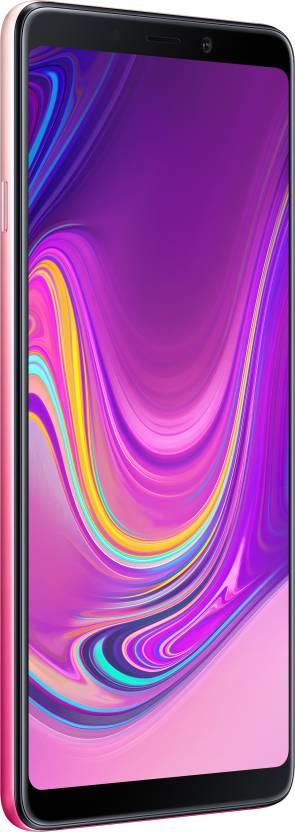 Samsung Galaxy A9 (Bubblegum Pink, 128 GB)(6 GB RAM)