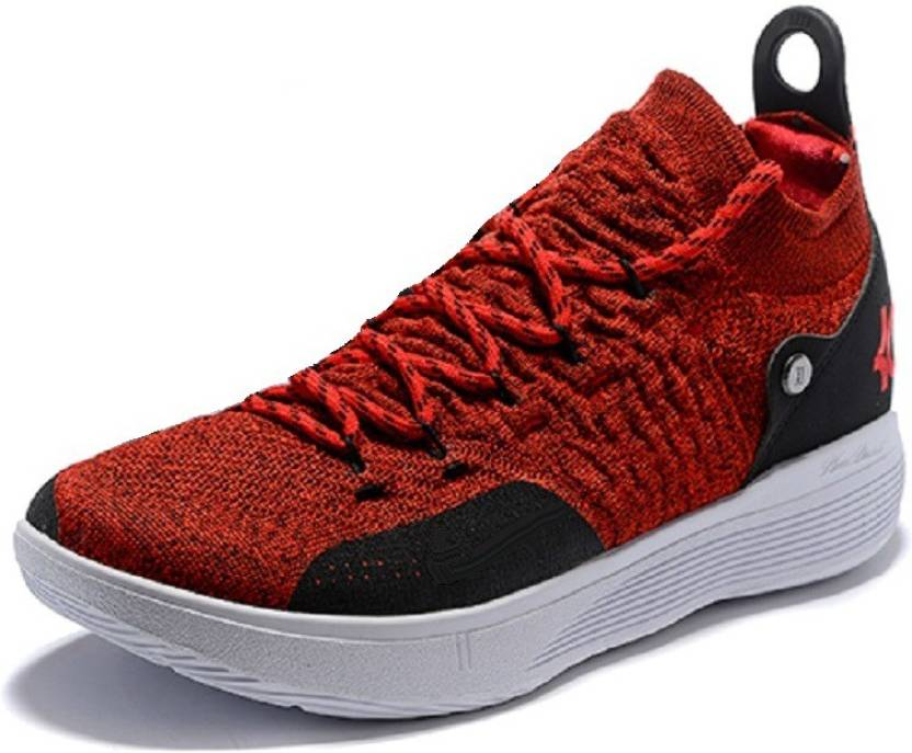 e431e933687 Air Jordan X Kevin Durant KD-11 Red Training   Gym Shoes For Men (Red)