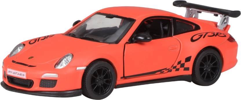 Miss & Chief Matte 2010 Porsche 911 Gt3 Rs  (Orange)