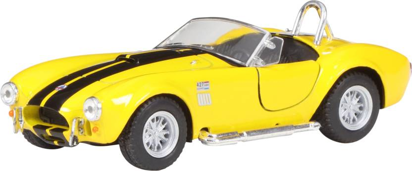 Miss   Chief 5'' 1965 Shelby Cobra 427 S/C Yellow   Yellow  Miss   Chief Push   Pull Along