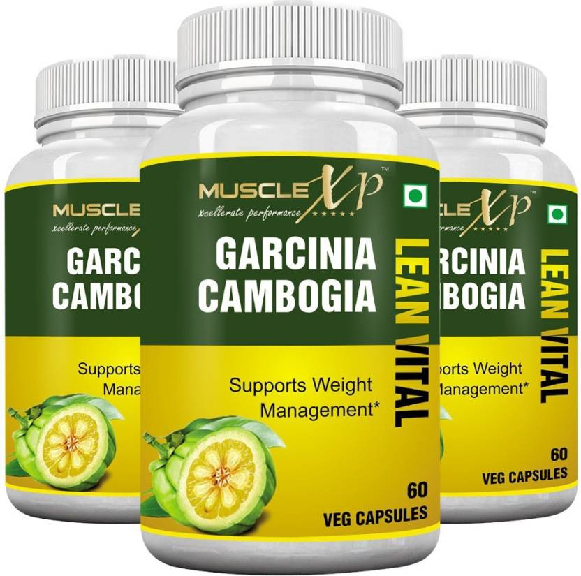 Musclexp Garcinia Cambogia Lean Vital 500mg Pack Of 3