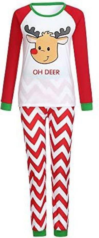 AutumnFall Family Christmas Pajamas Set Warm Adult Kids Girls Boys Mommy Sleepwear Nightwear Mother Daughter Fath - Clearance Sale!