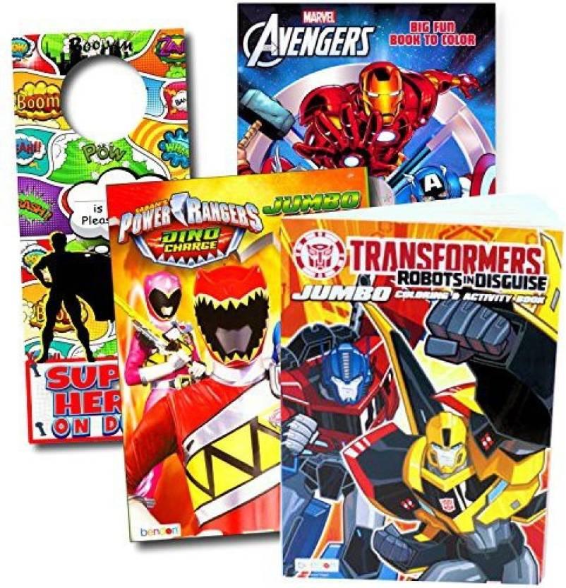 Marvel Comics Classic Superheroes Coloring Books Bundle - Classic ...