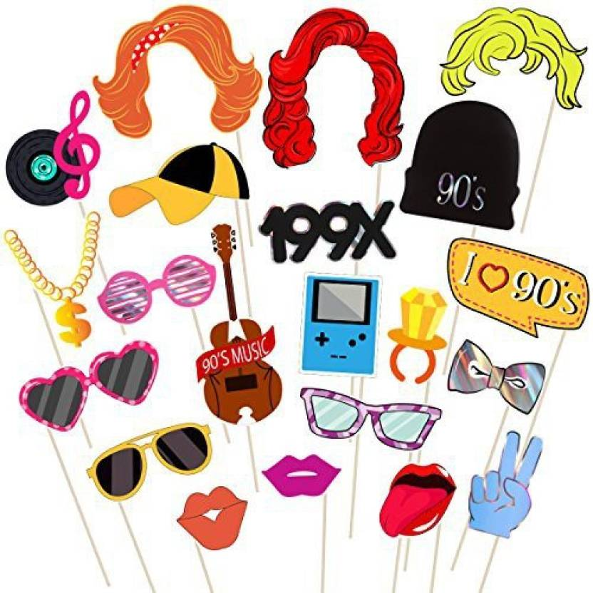 Bestoyard 9039s Party Photo Booth Props With Wooden Sticks Party