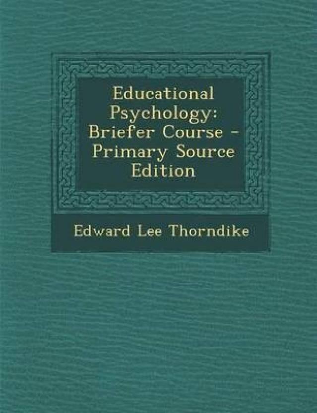 edward thorndike contribution to education