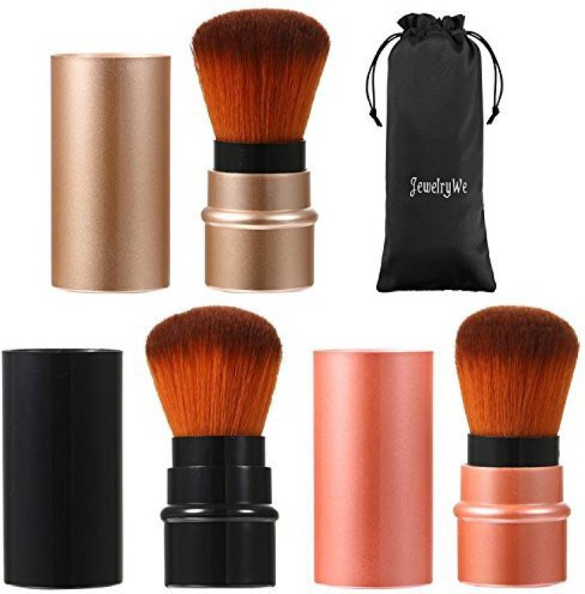 Jewelrywe 3 Colors Cosmetic Beauty Makeup Minerals Powder