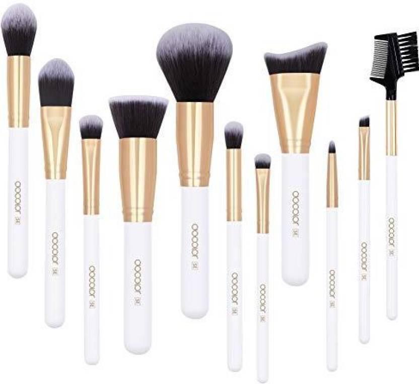 5b414baf5a26 Docolor Make Up Brushes 11Pcs Premium Cosmetic Makeup Brush Set ...