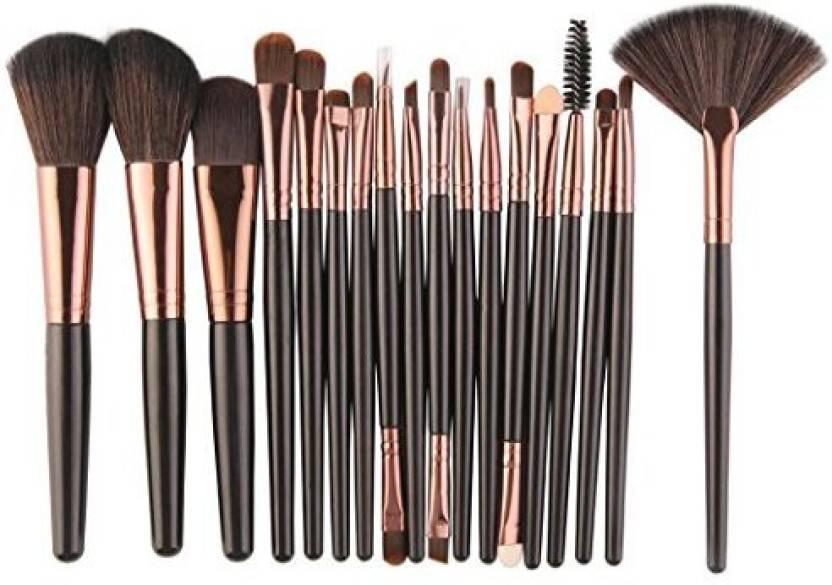 9a219f1ee112 Genrc Clearance 18 Pcs Makeup Brush Set Tools Fashion Professional ...