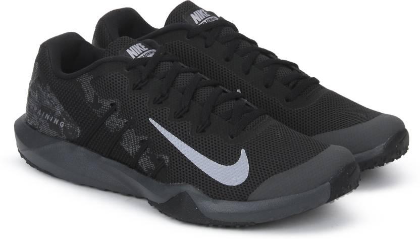 size 40 fd758 2d58d Nike RETALIATION TRAINER 2 Training  Gym Shoes For Men (Black)