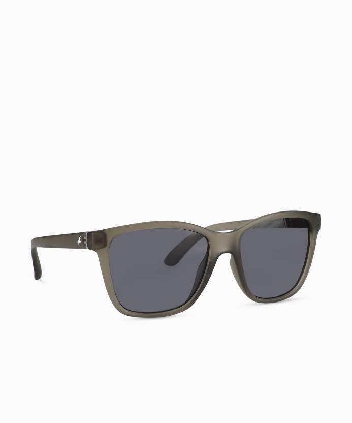 01f37db0c7 Buy Fastrack Wayfarer Sunglasses Grey For Men Online   Best Prices ...