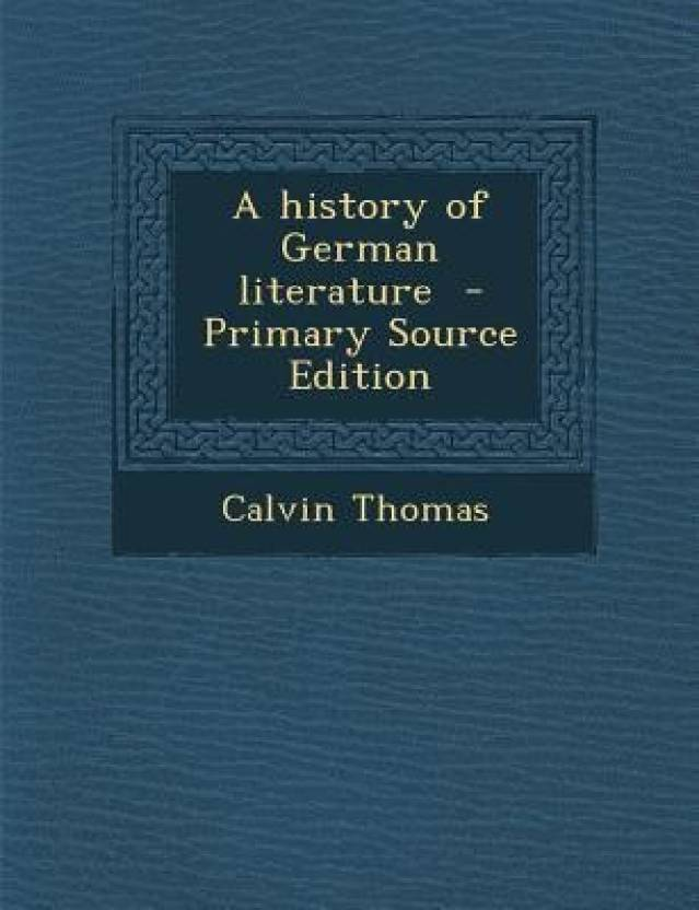 History of German Literature