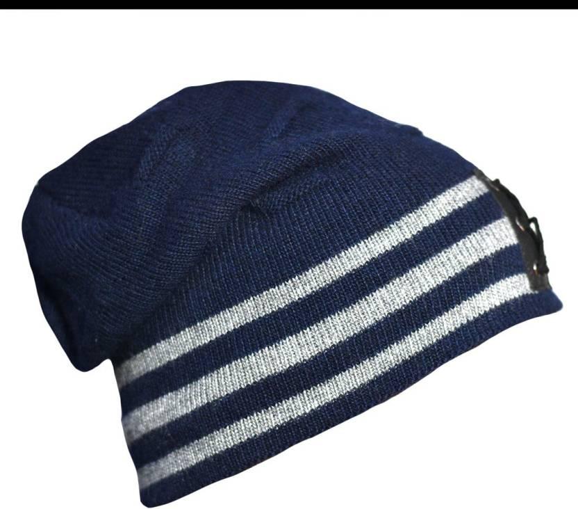 Radhe Woolen Cap- Winter Wear- New Design- Unisex Beanie- Blue Color Cap -  Buy Radhe Woolen Cap- Winter Wear- New Design- Unisex Beanie- Blue Color Cap  ... 30a88577071
