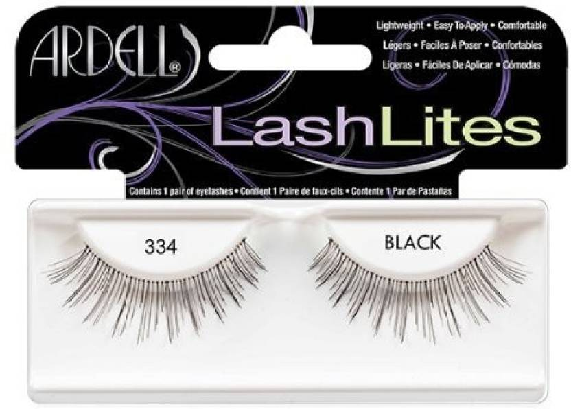fb2bb8c94eb Ardell Lash Lites Fake Eyelashes 334 Black - Price in India, Buy ...