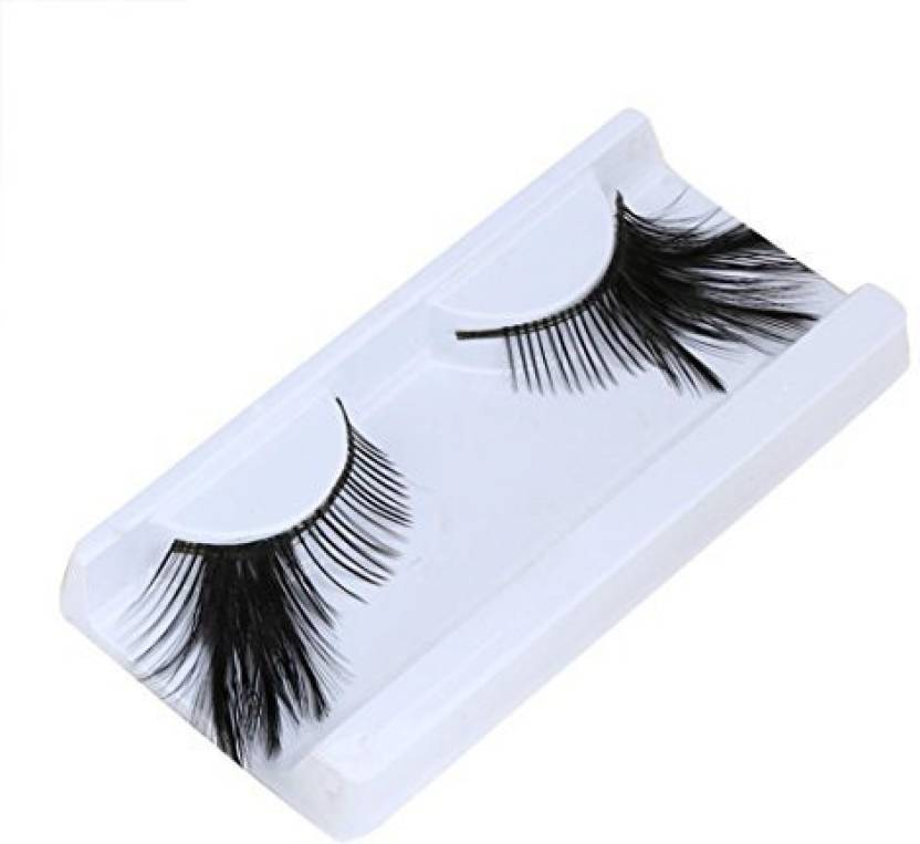 8df23b3369a Umfun False Eyelashes Women Fancy Soft Long Feather Eye Lashes Makeup Party  Club (Pack of 1)