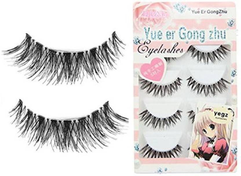 c4f149437ac 5 Pair Lot Crisscross False Eyelashes Lashes Voluminous Hot Eye (Pack of 1)