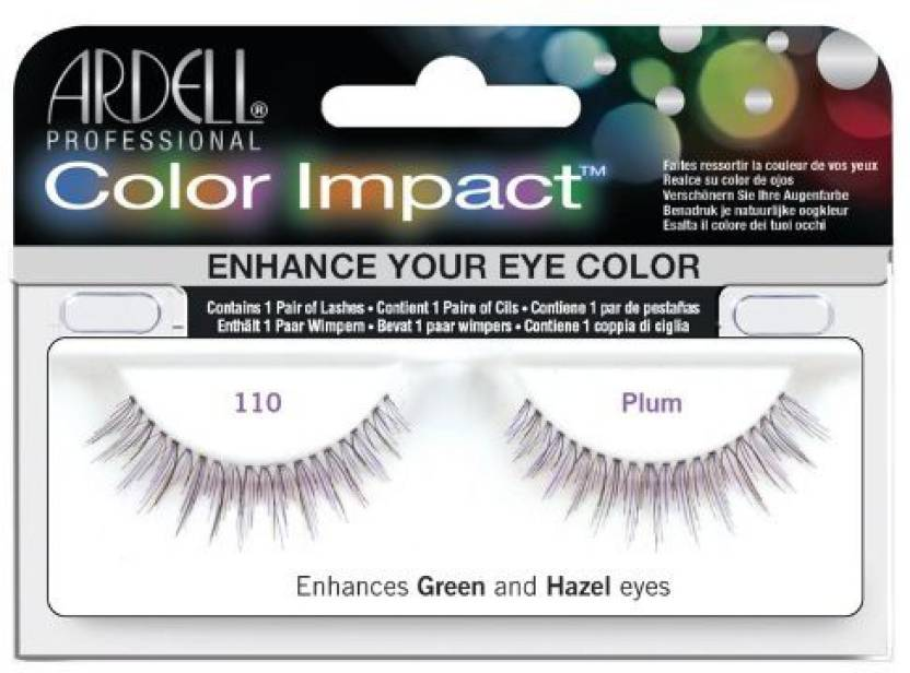 68e4b7201fb Ardell Color Impact Lash False Eyelashes 110 Plum - Price in India ...