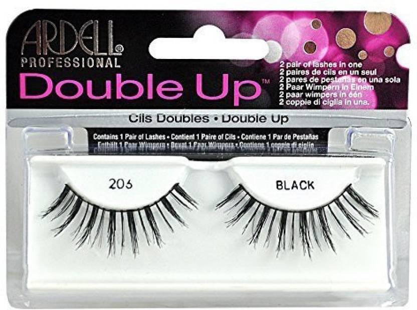 6db66b37379 Ardell False Eyelashes Double Up 206 Reusable Black - Price in India ...