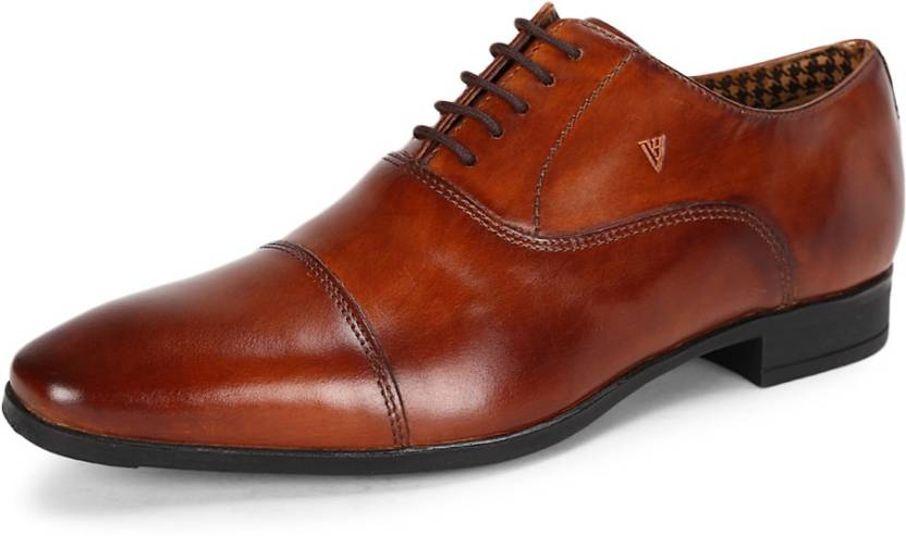49422ac97c Van Heusen Van Heusen Brown Formal Shoes Lace Up For Men - Buy Van ...