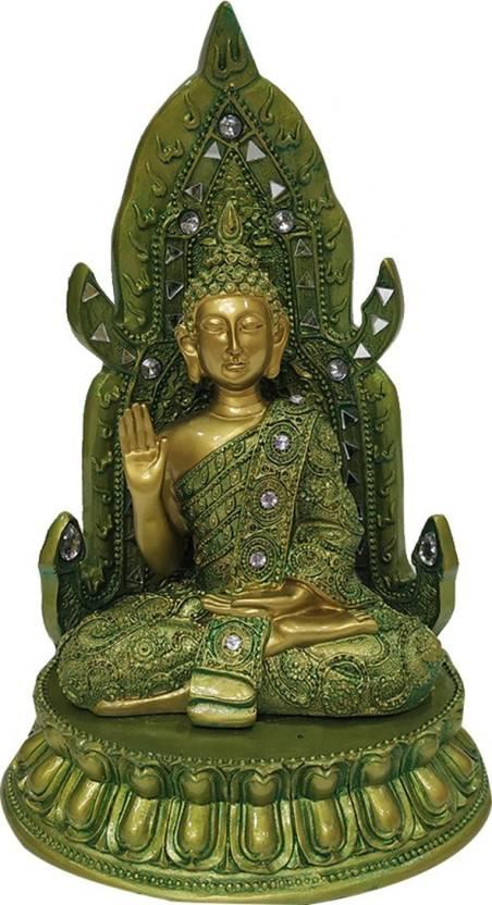 FABZONE Lord Buddha Idol God Gautam Buddh Statue Feng Shui