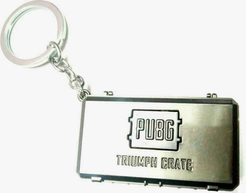 Spot Deal SDL1621 PUBG Crate Key Chain Price in India - Buy