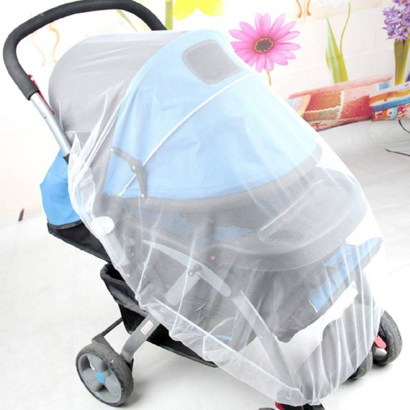 Lifekrafts Nylon Kids Strollers Mosquito Net For Baby Carriers Car Seats Cradles