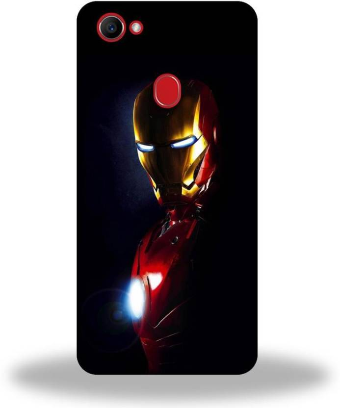 check out 3ca0e 9aa6d VICTORYFLAG Back Cover for Oppo F7 Ironman Printed - VICTORYFLAG ...