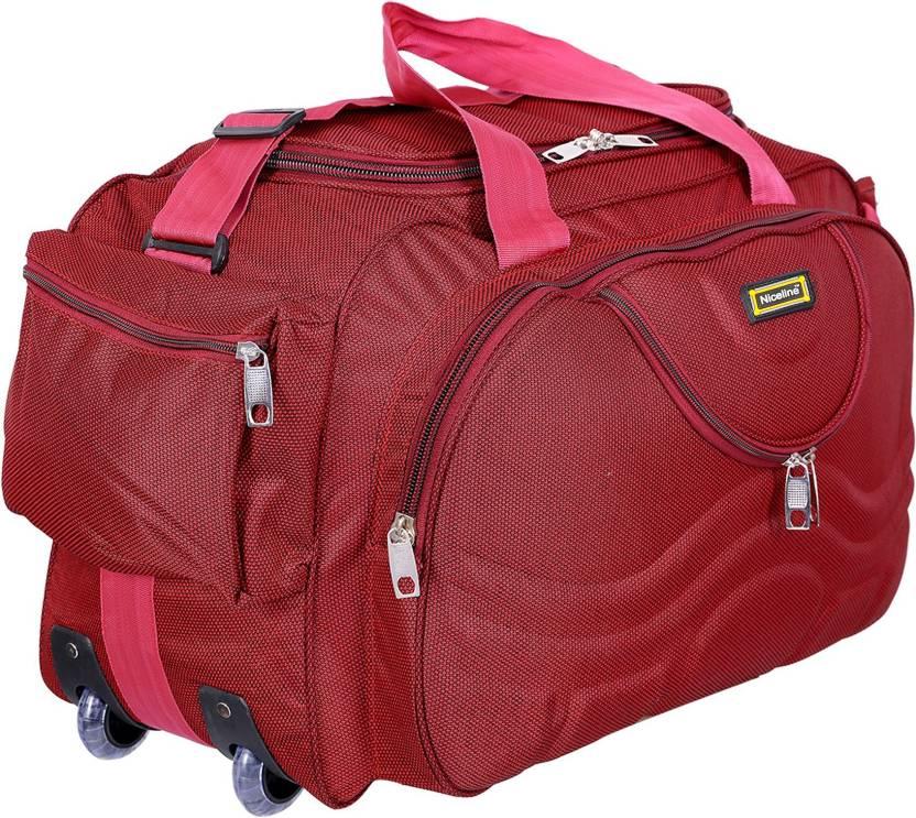 Nice Line Expandable Duffle Bags Travelling Bag Travel Duffel