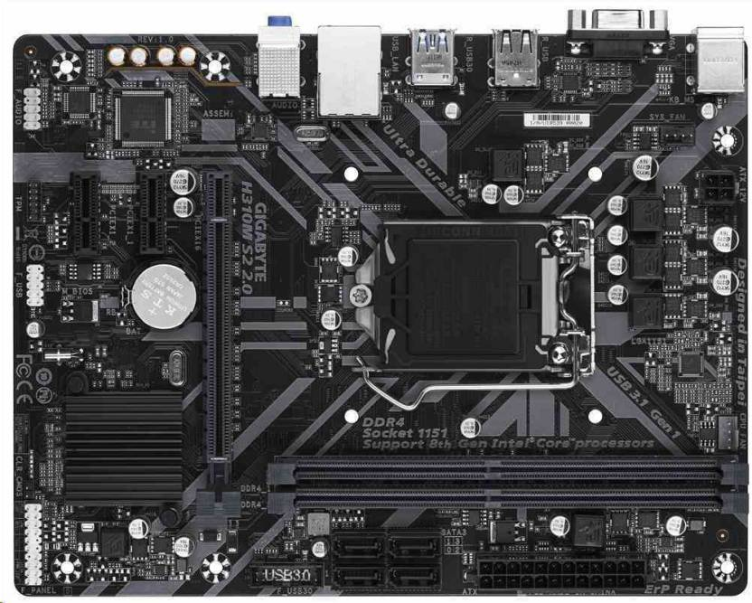 Gigabyte H310M-S2 Motherboard - Gigabyte : Flipkart com