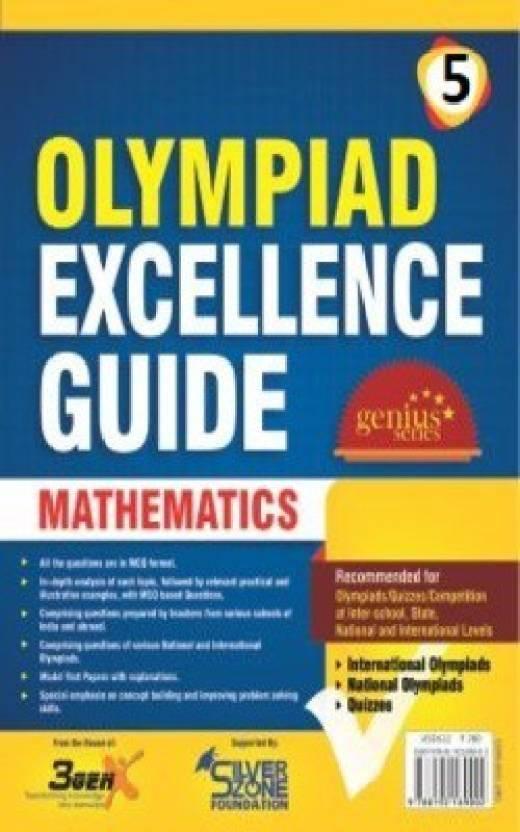 Silver Zone Olympiad Books Mathematics IOM GUIDE Book Class