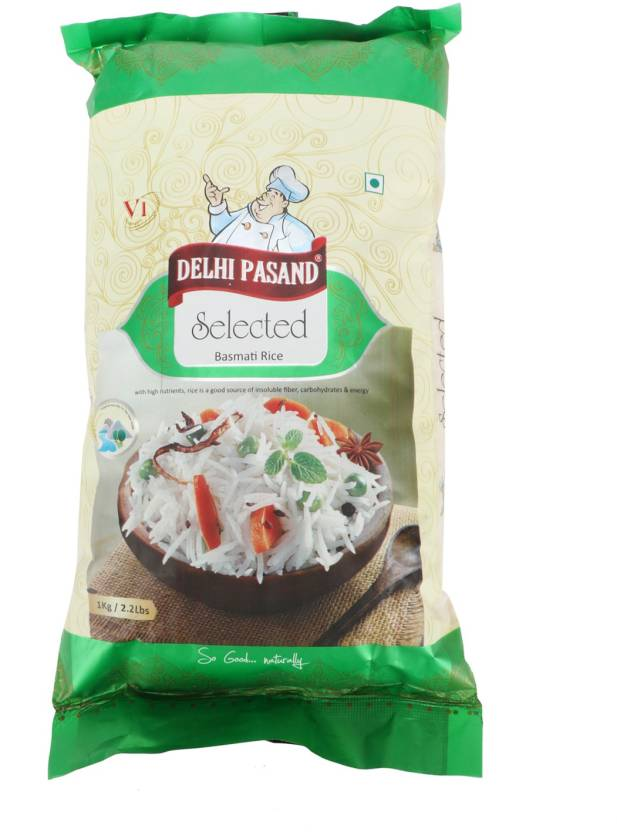 Delhi Pasand Selected Basmati Rice (Long Grain, Parboiled
