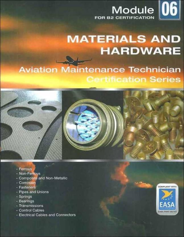 Materials & Hardware: EASA Module 06 for B2 Level: Buy Materials