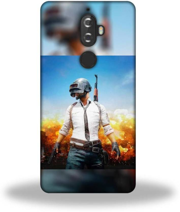 VICTORYFLAG Back Cover for Lenovo K8 Plus Pubg Printed