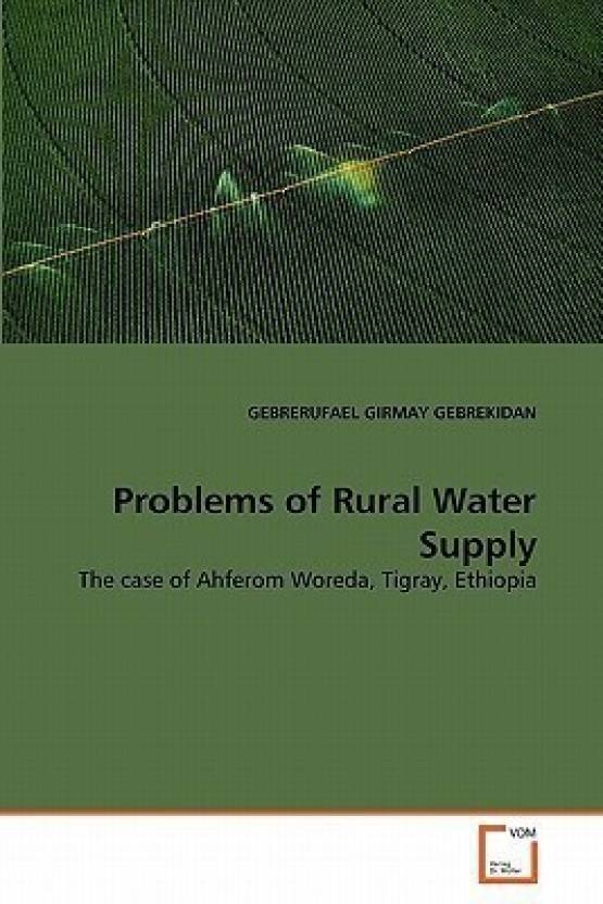 Problems of Rural Water Supply: Buy Problems of Rural Water