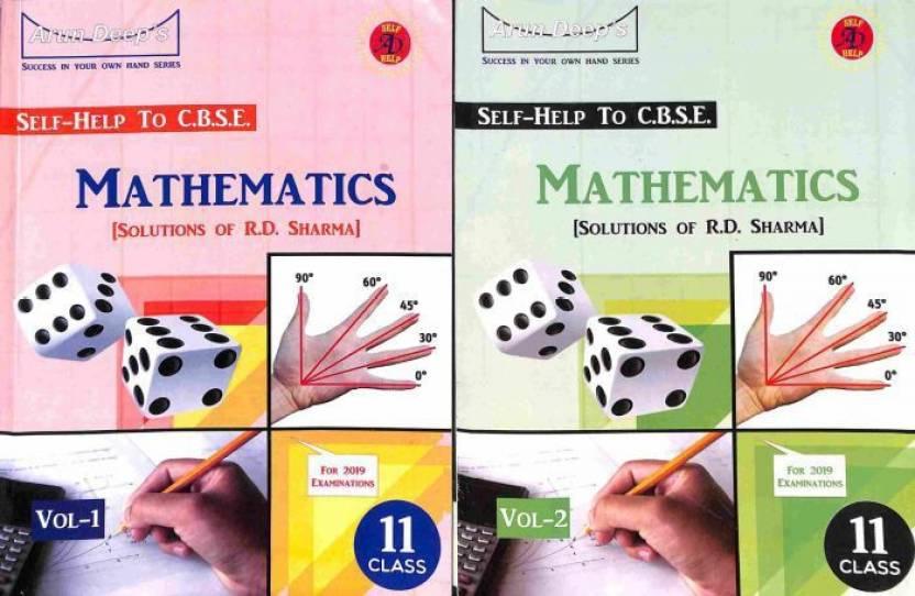 Arun Deep's Self-Help To CBSE Mathematics (Solutions Of R D