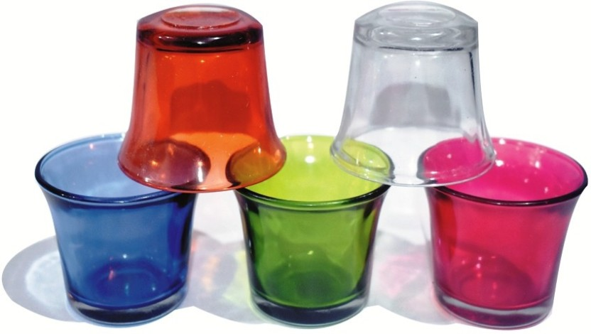 Event /& Wedding Decor Richland Tealight Candles Clear Cup Set of 50 Home