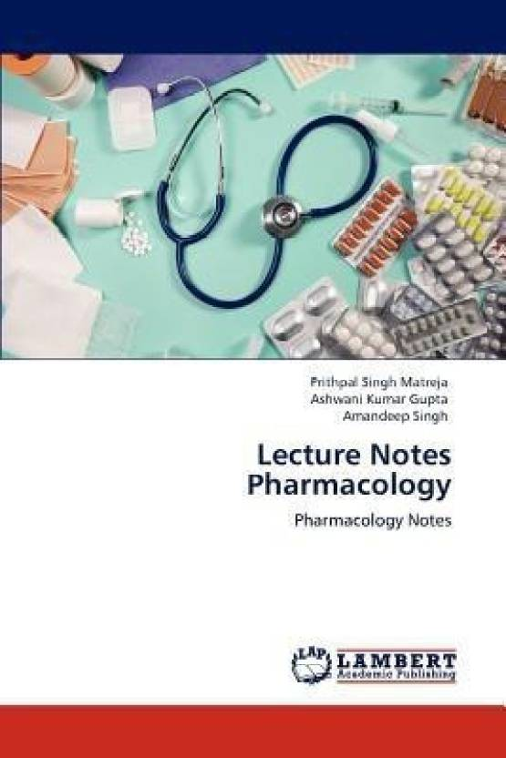 Lecture Notes Pharmacology: Buy Lecture Notes Pharmacology by