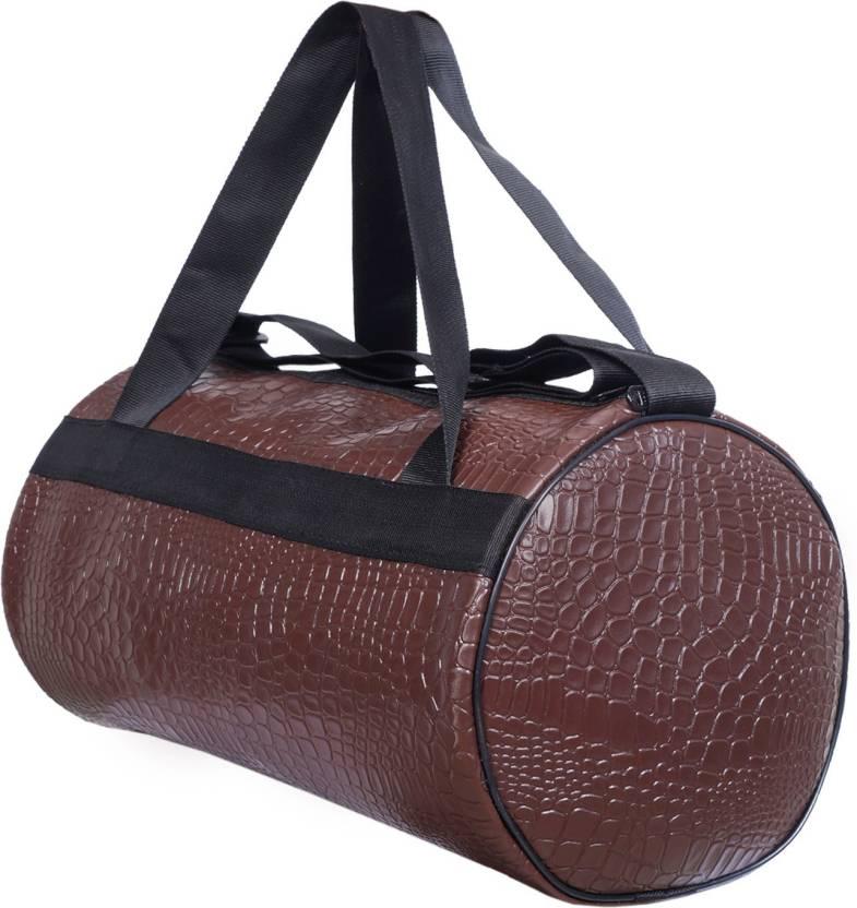 gag wears Crocodile Gym Bag Brown - Price in India  66ac7d6c35b15