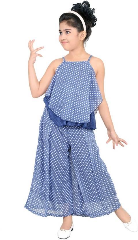 cd3b34e3d nukids Girls Party(Festive) Top Pyjama Price in India - Buy nukids ...